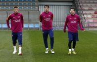 FC Barcelona training session: Ready for El Clásico