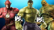 REVERSE FLASH VS HULK – EPIC BATTLE